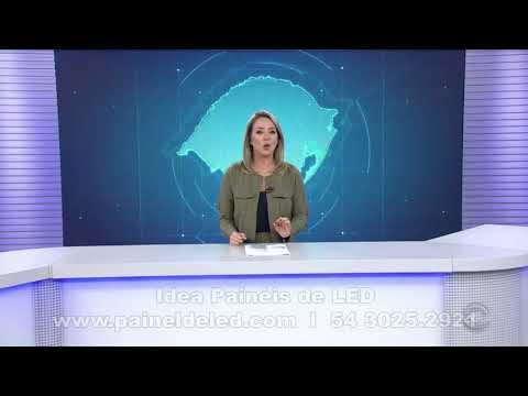 Painel de LED P2.6 em Estudio de TV - RBS TV