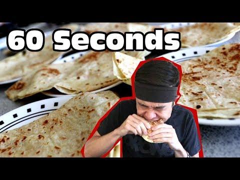 1 Minute Quesadilla CHALLENGE!! (Ep. #22)