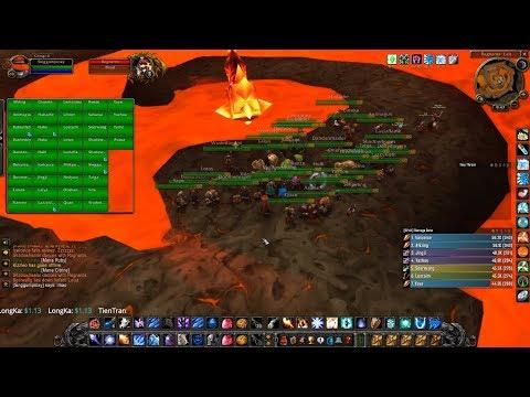 Wow Classic Server Yojamba Mage Level 60 Guild Twenty Four Seven go Raid : Molten Core