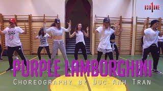 "Skrillex & Rick Ross ""PURPLE LAMBORGHINI"" Class Footage | Duc Anh Tran Choreography"