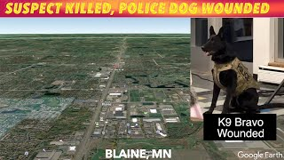 Suspect Killed, Police Dog Wounded In Minnesota Shootout