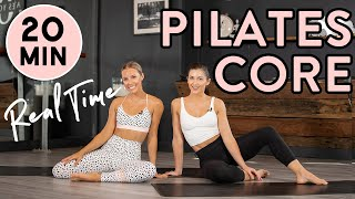 20-minute Core & Ab Pilates Home Workout