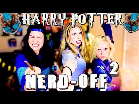 HARRY POTTER NERD-OFF | THE REMATCH with Brizzy Voices & Tessa Netting