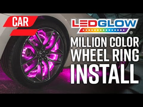 LEDGlow   How To Install An LED Wheel Ring Lighting Kit