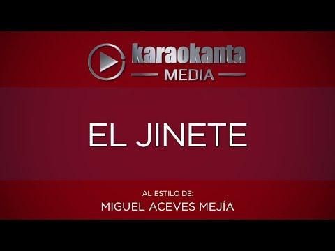 El jinete Miguel Aceves Mejia