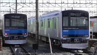 【新車 南栗橋到着】 東武UPL(野田線) 60000系  61613F+61614F甲種輸送 南栗橋到着