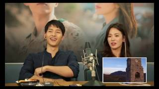 Descendant of the Sun Couple Commentary English Sub - Tower Kiss