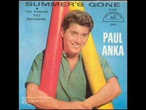 Paul Anka: Summer's Gone