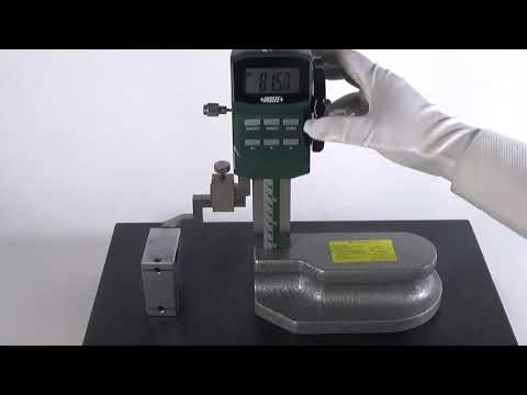 Insize Digital Height Gauge with Driving Wheel