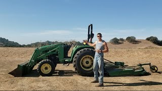 HOW TO DRIVE FARM TRACTOR!