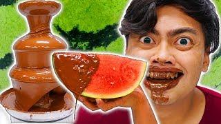 Chocolate Juicy Fondue Challenge