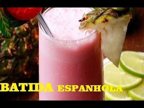 como fazer  BATIDA ESPANHOLA RÁPIDO E FÁCIL | Preto na Cozinha/carnaval