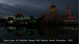 preview picture of video 'Sultan Omar Ali Saifuddin Mosque(Old Mosque) , Brunei Darussalam - 2012 / Part2'