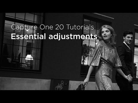 Capture One 20 Tutorials   Essential adjustments - YouTube