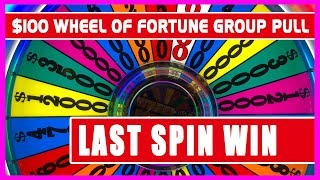 💰$100/SPIN Wheel of Fortune 60 PERSON GROUP PULL 🎰✦ Brian Christopher Slots 👫RUDIES Weekend 2018