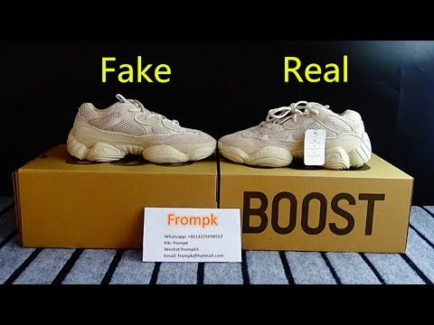 Quick Look At Here Real Vs Fake Yeezy Boost 500 Blush Pk Www