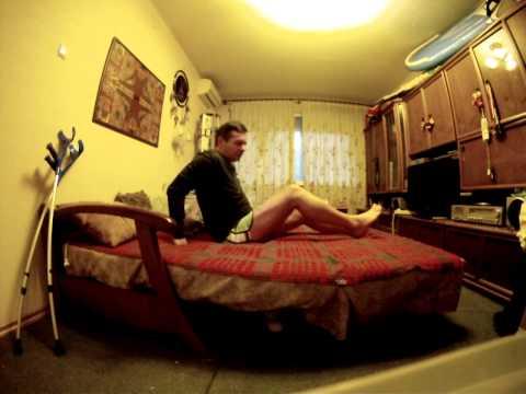 Упражнения на сгибание-разгибание ноги