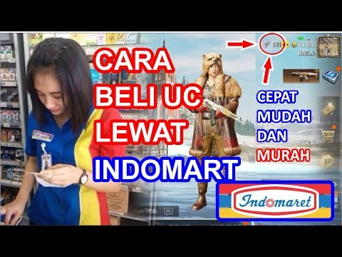 Cara beli UC PUBG lewat Indomart.. CEPAT & MUDAH loo..