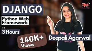 # Django Full Course in 3 Hours | Django Tutorial | Hindi
