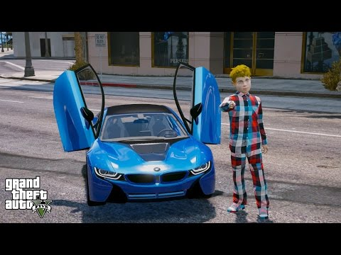 Bmw I8 Car Showcase Gta V Car Mod