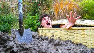 I Spent 24 Hours Buried In A Coffin - Challenge