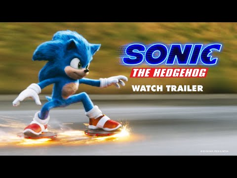 Sonic the Hedgehog / Sonic Η Ταινία - 1ο Επίσημο Τρέιλερ