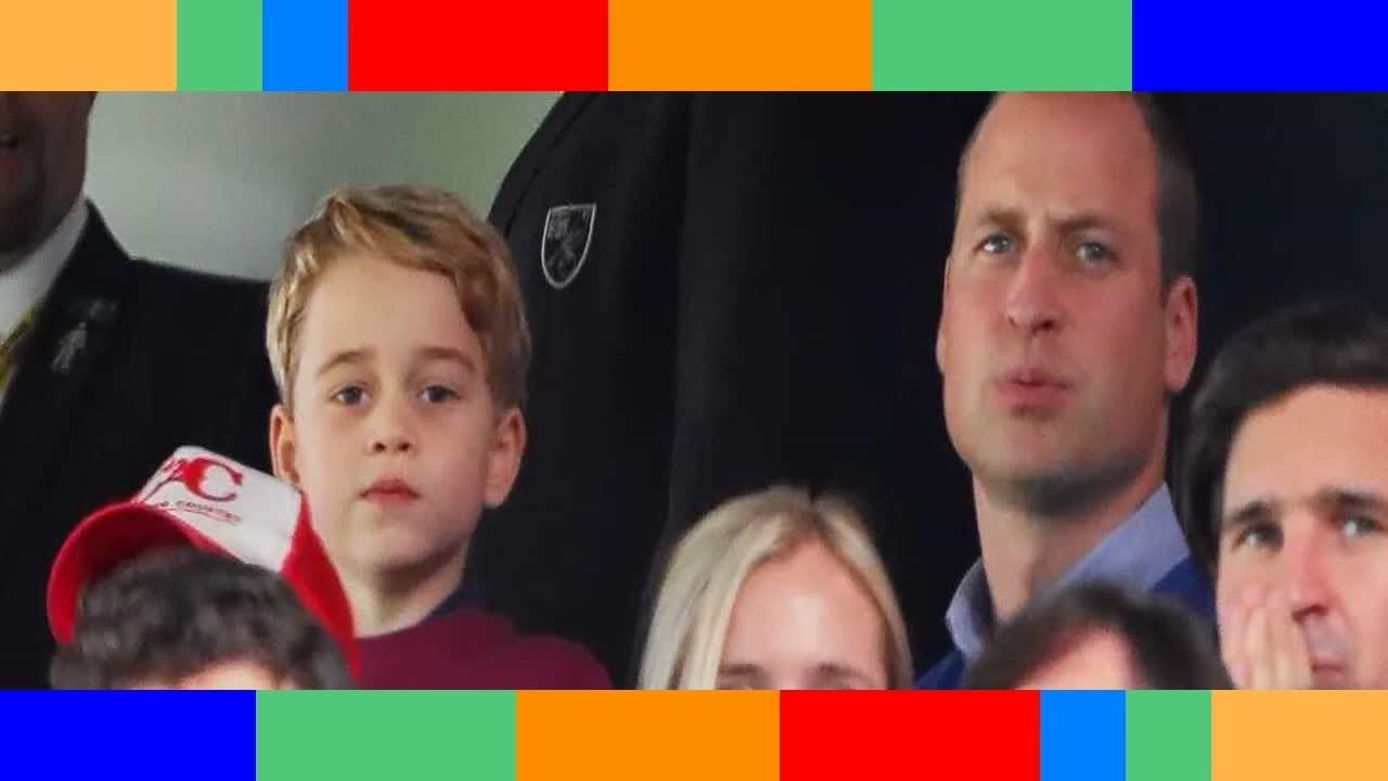 Le prince George écolo et engagé les confidences de son père, William