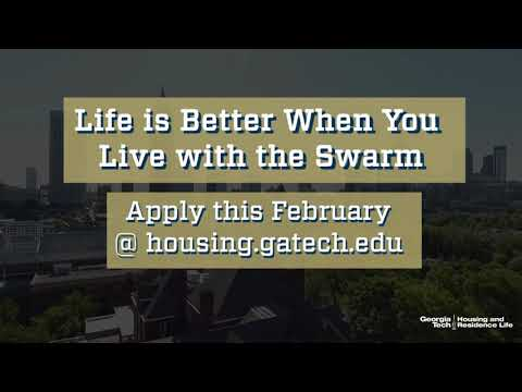 Life with the Swarm in Georgia Tech Housing & Residence Life
