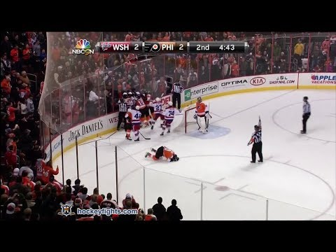 Nicklas Grossmann vs. Tom Wilson