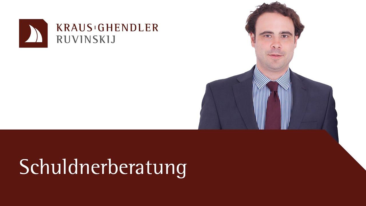 Schuldnerberatung durch einen Anwalt – Ziele und Vorteile kurz erklärt