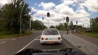 205 Rallye Dimma 2.0 8V Turbo Vs 205 GTi 2.0 16V - GoPro HD HERO2