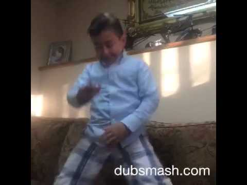 Kid Dances To Bounce That Booty Like A Basketball Remix