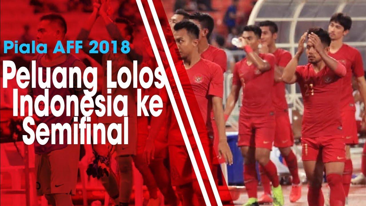 Kalah dari Thailand, Ini Peluang Timnas Indonesia agar Lolos ke Babak Semifinal Piala AFF 2018
