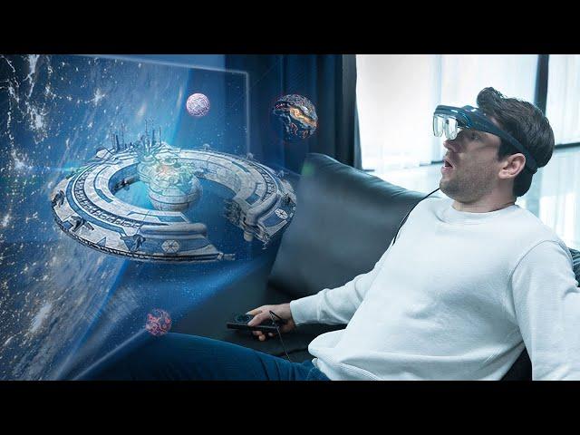 DreamGlass – 4K гарнитура дополненной реальности, которой не нужен экран