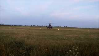 preview picture of video 'Polish Mi-2 start 56 BL Inowrocław'