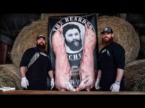 How to Butcher a Pig | ENTIRE BREAKDOWN | Step by Step by the Bearded Butchers!