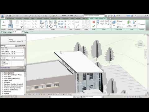 Revit 2017 What's New – Improved Railing Hosts