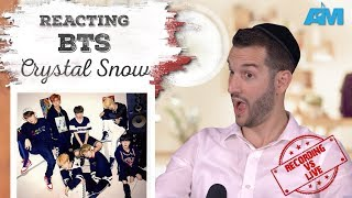 VOCAL COACH reacts to BTS singing CRYSTAL SNOW