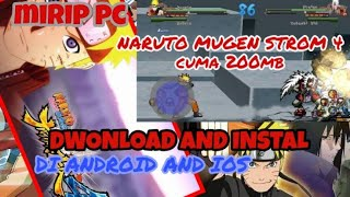 naruto ultimate ninja storm 4 mugen download apk android