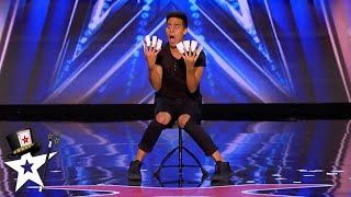Haunted By Cards! Magician Shocks Judges With Card Tricks on AGT 2020 | Magicians Got Talent