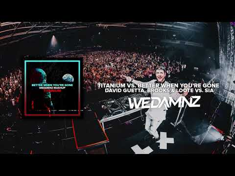 David Guetta, Brooks & Loote Vs. Sia - Titanium Vs. Better When You're Gone (WeDamnz Mashup)