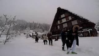 Japan Winter Fun - How to Enjoy Shirakawa-go Snow Village