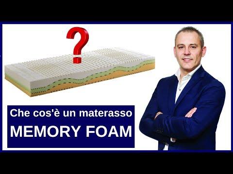 Che cos'è il materasso in Memory Foam