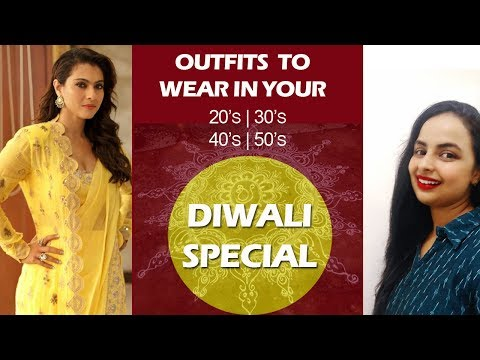 This Diwali Dress Your Age| Outfits To Wear In Your 20's,30's,40's,50's Mp3