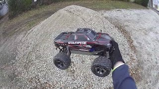 Traxxas - Stampede 4X4 VXL - Rock Pile Jumps