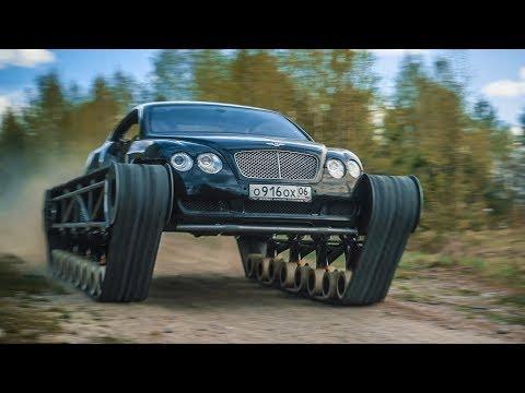 Russian YouTubers put tank tracks on a Bentley. Enter: Bentley ULTRAtank