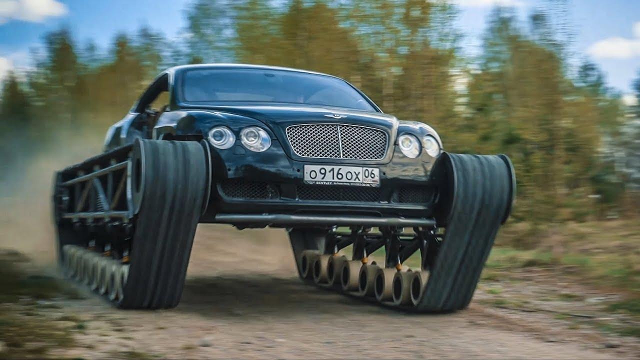 Russen paaren Luxus mit Geländegängigkeit - Bentley mit Kettenantrieb
