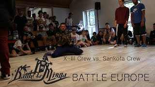 preview picture of video 'Battle of Minga 2013: lll-X Crew vs. Sankofa Crew'