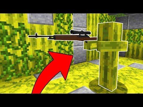 GÖRÜNMEYEN GİZLİ KESKİN NİŞANCI! - Minecraft