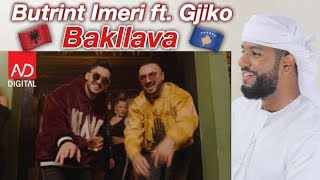 ARAB REACTION TO ALBANIAN MUSIC BY Butrint Imeri Ft. Gjiko   Bakllava **I LOVE IT**
